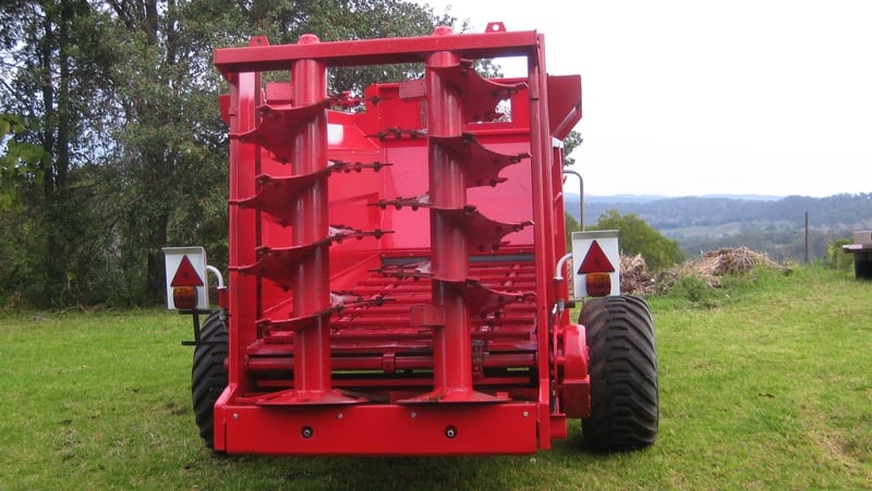 TUFFASS Machinery M60 Vertical Beater Vertical Beater Spreaders