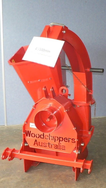 CH100 3-point linkage PTO driven woodchipper